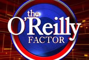 Logo for Bill O'Reilly show The O'Reilly Factor