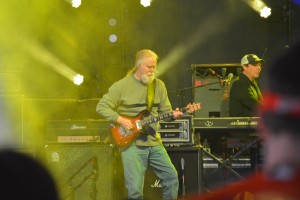 Guitarist Jimmy Herring and keboardist John Hermann had the crowd rocking at Pier Six Pavilion. (Costa Swanson)
