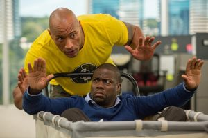 Dwayne Johnson and Kevin Hart are so good in Central Intelligence you can bet there will be a sequel in two years. (New Line Cinema)