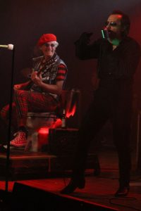 Captain Sensible and David Vanian of The Damned at Baltimore Soundstage credit Todd Welsh