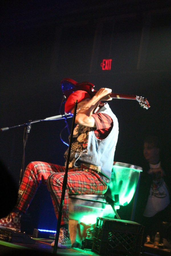 Captain Sensible at Baltimore Soundstage credit Todd Welsh
