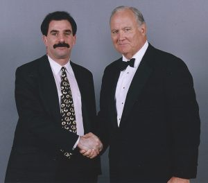 Doug Poppa 1998 as part of the security detail for Gen. Norman Schwarzkopf (ret.) at the MGM Grand Resort-Casino in Las Vegas, NV.