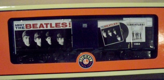 Beatles toy train car[1]