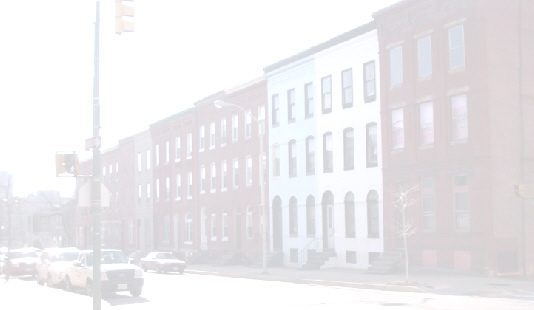 Washed out rowhouses