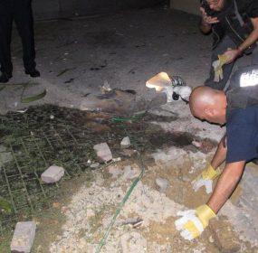 israeli police rocket