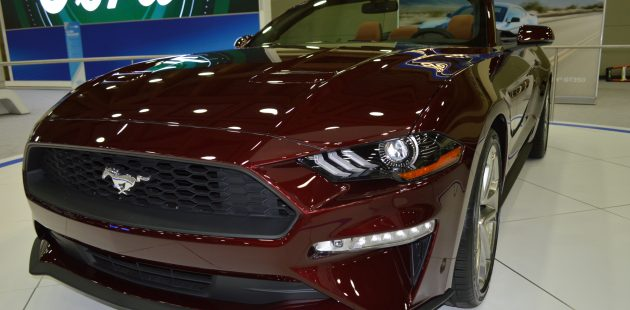 A Ford Mustang at the 2017 Baltimore International Auto Show (Anthony C. Hayes)