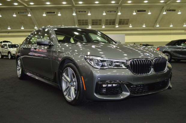 Cars on display at the 2017 Motor Trend International Auto Show in Baltimore, Maryland. (Anthony C. Hayes)