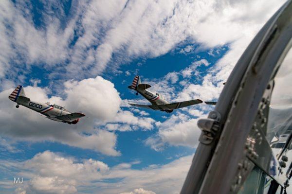 GEICO Skytypers media flight over Annapolis, Maryland credit Michael Jordan BPE