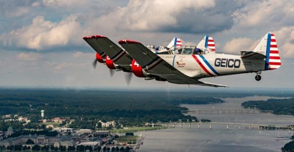 GEICO Skytypers over Annapolis credit Michael Jordan BPE