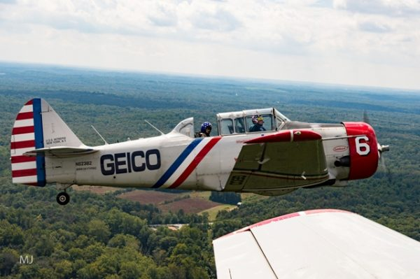 GEICO Skytypers media flight over Annapolis, Maryland credit Michael Jordan BPE