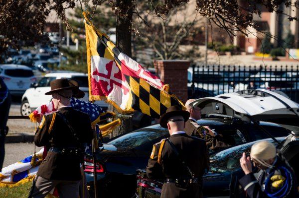 Detective Sean Suiter funeral credit Michael Jordan BPE