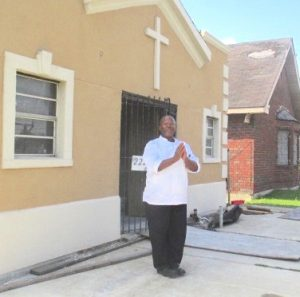 Rev. Darrell Turner of the Disciples of Christ Christian Fellowship Ministry in New Orleans' Lower Ninth Ward. (Courtesy)