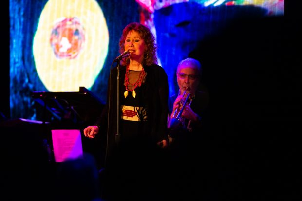 Grammy Award winning artist Herb Alpert and Lani Hall perform at City Winery in Washington DC on on Wednesday May 1, 2019. (PHOTO/Mike Jordan)