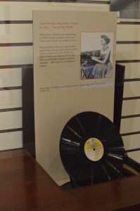 """You're My Thrill"" was a demo recorded for Ava by Frank Sinatra is on display at The Ava Gardner Museum in Smithfield, North Carolina. (Anthony C. Hayes)"