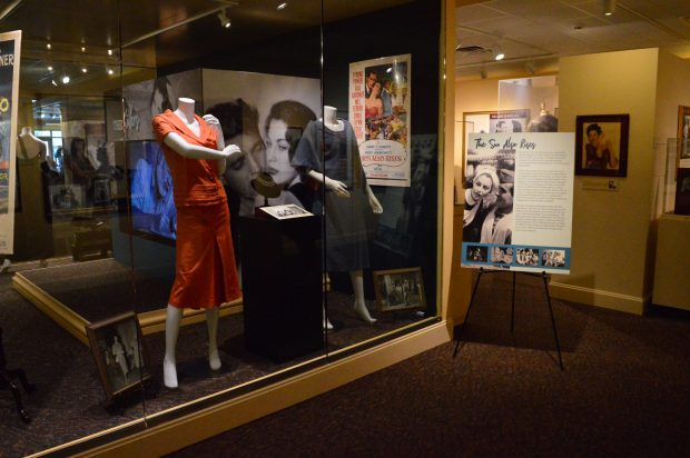 The Sun Also Rises display at the Ava Gardner Museum in Smithfield, North Carolina. (Anthony C. Hayes)