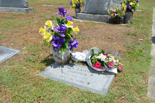 The grave of Ava Gardner in Smithfield, North Carolina. (Anthony C. Hayes)