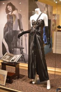 The Ava Gardner Museum Killers dress replica was created by Raleigh designer Danielle Wiggins. (Anthony C. Hayes)