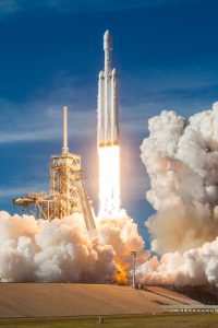 The Areojet Rocketdyne Propulsion mission will launch from Cape Canaveral, Florida, aboard a SpaceX Falcon Heavy rocket. (Wikimedia Commons)