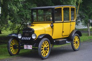A Model T Ford at the Mountain Lake Park Chautauqua, Then and Now. The Model T Ford was once America's automobile of choice. (Anthony C. Hayes)