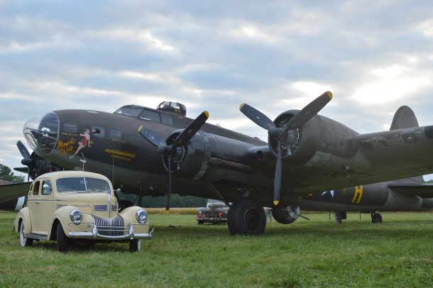 """The Movie"" Memphis Belle athe the 2019 Geneseo Airshow. (Anthony C. Hayes)"