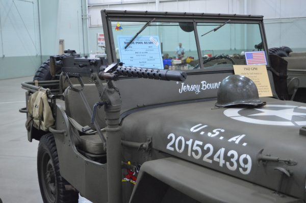 A JEEP on display at the 2019 Military Vehicle Preservation Association Convention in York, PA. (Anthony C. Hayes)