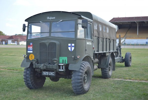 A British vehicle on display at the 2019 Military Vehicle Preservation Association Convention in York, PA. (Anthony C. Hayes)