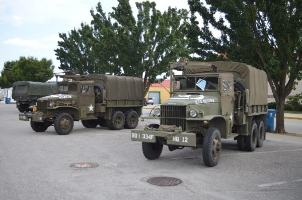 Military vehicles on display at the 2019 Military Vehicle Preservation Association Convention in York, PA. (Anthony C. Hayes)