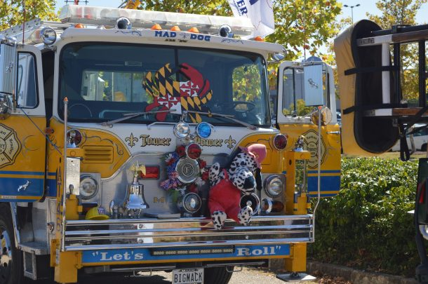 On Sunday, Sept. 15, 2019, Fired Up for Childhood Cancer hosted its annual Family Fun Day at the Marley Station Mall in Anne Arundel County, Maryland. (credit Anthony C. Hayes)