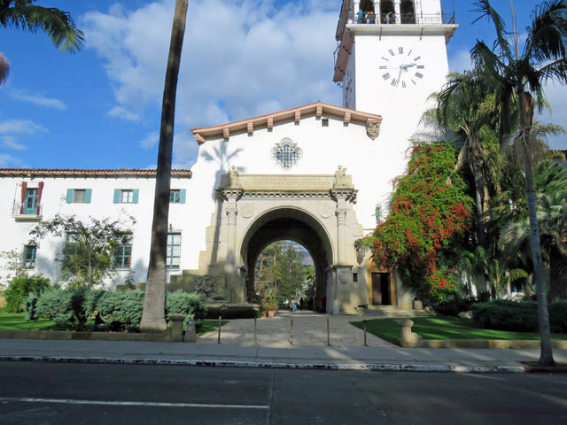 Santa Barbara's Courthouse