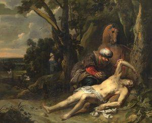 The Good Samaritan Balthasar van Cortbemde (Library of Congress - Public Domain)