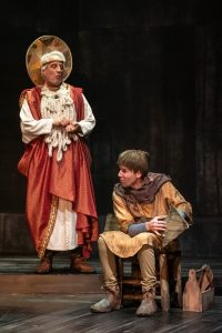 "Michael Russotto and Evan Casey in ""The Amateurs"" at Olney Theatre Center Photo Credit: Teresa Castracane Photography"