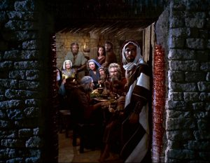 Passover sceen from the film The Ten Commandments