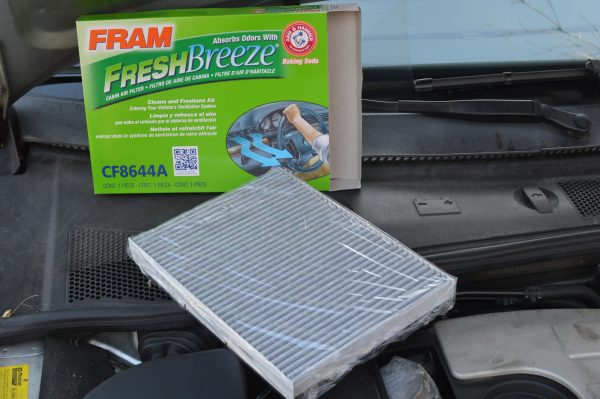 A car's cabin air filter should be replaced when doing coronavirus cleaning