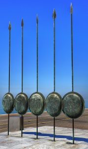 Roman spears and shields. (Pixabay)