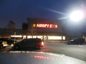 Shoppers Food Market - Smith Ave. Baltimore, Maryland. Shortages prompted many Baltimoreans to go shopping for toilet paper at 6 a.m. (Anthony C. Hayes)