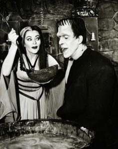 TV Dinners: screenshot from The Munsters