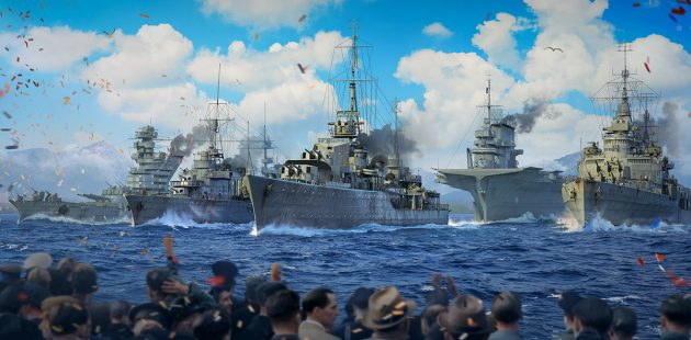 World of Warships virtual parade salutes Alleied navies of WWII (Courtesy)