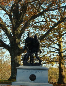 The Maryland State Monument at Gettysburg National Park credit Todd Welsh/BPE