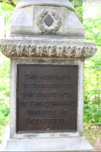 A monument to the fallen at Gettysburg. H. R. 7068 would mandate that all Confederate monuments be removed from Americas National Parks.{Todd Welsh/BPE}