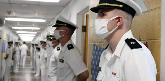 US Navy Officer candidate Alexander Boettinger 1 (courtesy Naval Service Training Command)