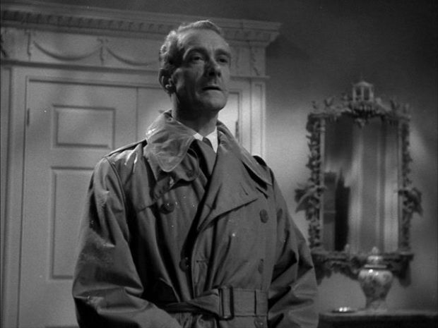 Hollywood Haunted: Clifton Webb in a screenshot from Laura (1944)