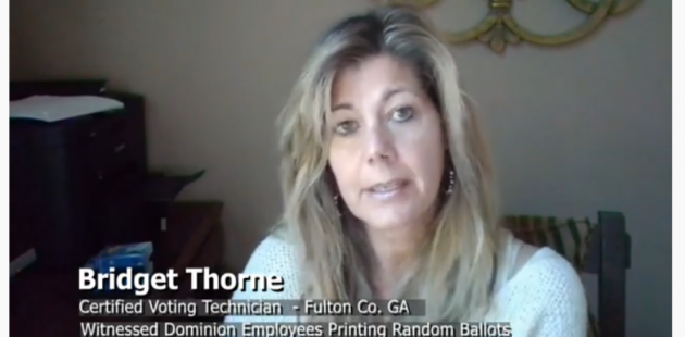 Bridget Thorne Cerified Voting Tech Fulton County Georgia Youtube screenshot
