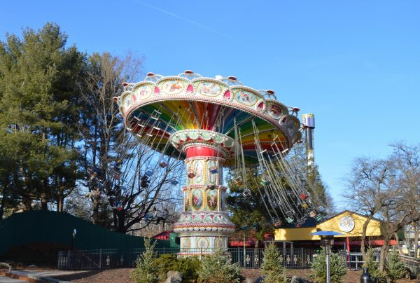 The Flying Carousel at Six Flags Holiday in the Park. (credit Anthony C. Hayes/BPE)