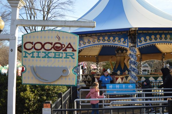 The Cocoa Mixer at Six Flags Holiday in the Park. (credit Anthony C. Hayes/BPE)