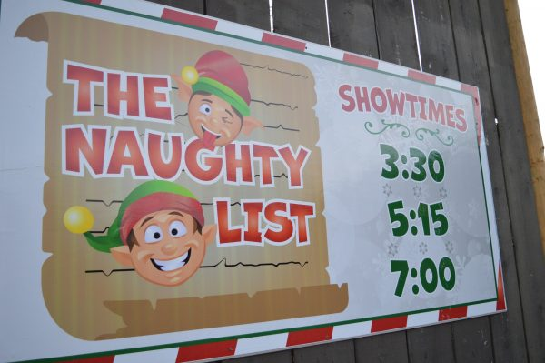 The Naughty List show at Six Flags Holiday in the Park. (credit Anthony C. Hayes/BPE)