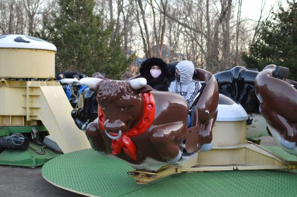 The Bull Ride at Six Flags Holiday in the Park. (credit Anthony C. Hayes/BPE)