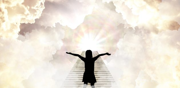girl on stairs of heaven - eternity: Image by Vicki Nunn from Pixabay