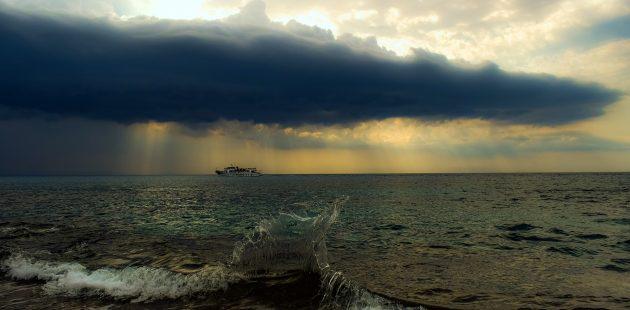 Passenger: storm at sea - Image by Dimitris Vetsikas from Pixabay