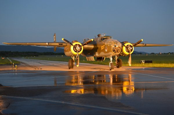 Night Engine-Run Photo Shoot: MAAM WWII Weekend 2021 credit Anthony C. Hayes