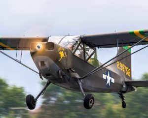 Stinson L-5 Sentinel (photo credit: John Lackey, Capital Wing member, Flyby Photography)